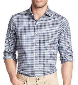 Polo Ralph Lauren  - Estate Plaid Cotton Sportshirt