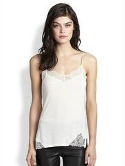 Polo Ralph Lauren - Knit Silk-Detail Camisole