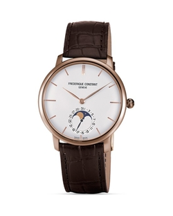 Frederique  - Constant Slimline Moonphase Watch