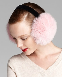 Maximilian - Fox Earmuffs With Velvet Band