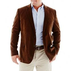 Stafford - Corduroy Sport Coat – Big & Tall