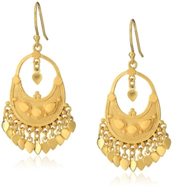 Satya Jewelry  - Classics Petal Chandelier Earrings