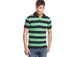Armani Jeans  - Striped Polo Shirt