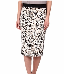 Vince Camuto - Leopard Pencil Skirt