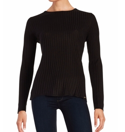 Ivanka Trump - Ribbed Crew Sweater