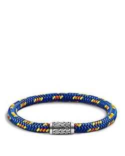 John Hardy - Chain Silver Station Bracelet