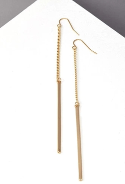 Forever 21 - Matchstick Duster Earrings
