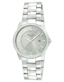 Kenneth Cole - Stainless Steel Monochromatic Watch