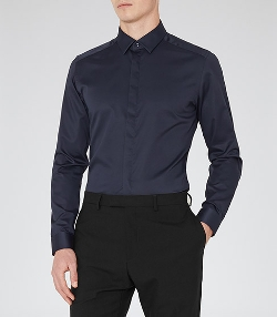 Comet - Concealed Placket Shirt