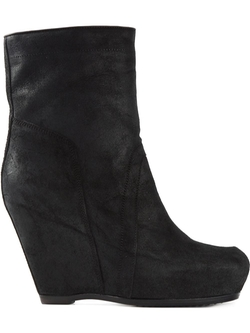 Rick Owens - Wedge Ankle Boots