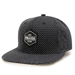 City Hunter - Zigzan Linen Snapback Caps