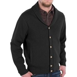 Pendleton  - Shawl Collar Cotton Knit Jacket