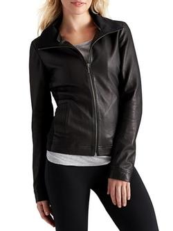 Athleta - Strut Leather Jacket