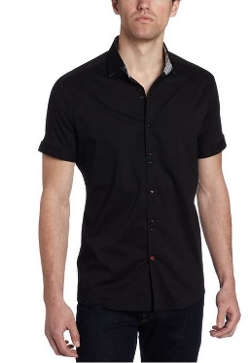 Stone Rose  - Solid Woven Shirt
