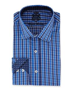 English Laundry  - Plaid Woven Dress Shirt