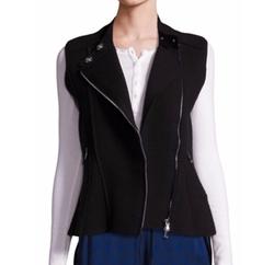 3.1 Phillip Lim  - Knit Moto Vest