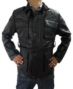 CosplayhiT  - Dark Knight Rises Bane Black Jacket