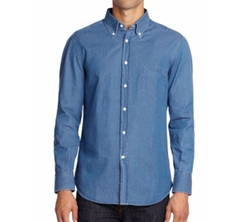 Brunello Cucinelli - Cotton Chambray Sportshirt