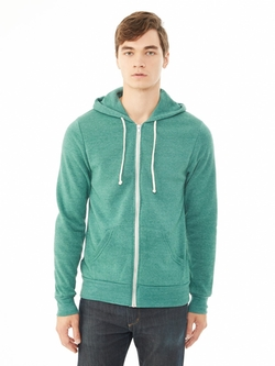 Alternative Apparel - Rocky Eco-Fleece Zip Hoodie