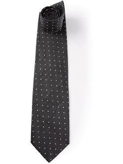 Gianfranco Ferre Vintage - Printed Dotted Tie