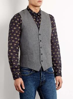 Topman - 5 Button Waistcoat