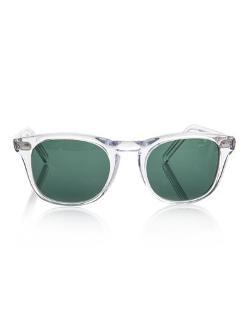 Cutler and Gross  - Transparent Frame Sunglasses