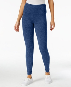 Style & Co. - Heathered Tummy-Control Active Leggings