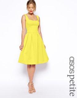Asos - Petite Debutante Midi Dress