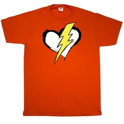 Inktastic - The Flash Heart T-Shirt