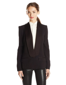 Rachel Zoe - Classic Shawl-Collar Blazer