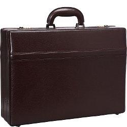 Mancini Leather Goods - Expandable Attaché Case