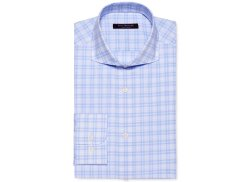 Isaac Mizrahi - Slim-Fit Check Dress Shirt
