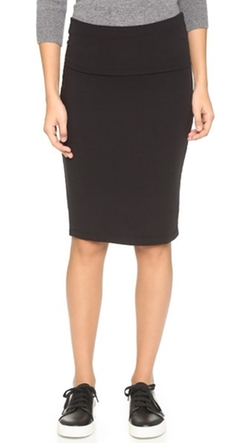Splendid - Fold Over Pencil Skirt