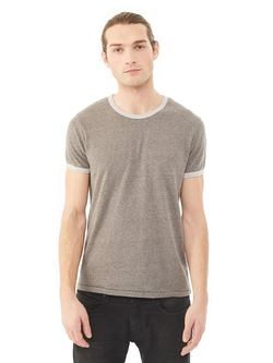 Alternativ - Eco-Mock Twist Ringer T-Shirt