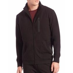 Saks Fifth Avenue Collection  - Raglan-Sleeve Full Zip Jacket