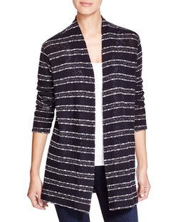 Three Dots - Natasha Striped Cardigan