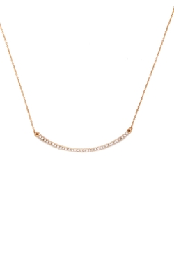 Forever21 - Rhinestone Bar Necklace