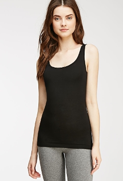 Forever 21 - Stretch-Knit Tank Top