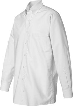 Van Heusen  - Wri-Resistant Blended Pinpoint Dress Shirt
