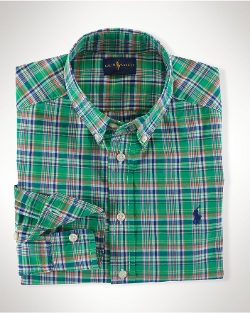 Ralph Lauren - Plaid Cotton Blake Shirt