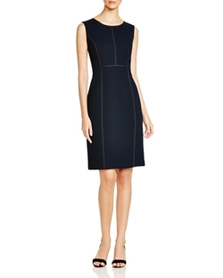 Lafayette 148 New York  - Mariana Wool Sheath Dress