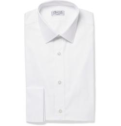 Charvet - White Royal Slim-Fit Cotton Oxford Shirt