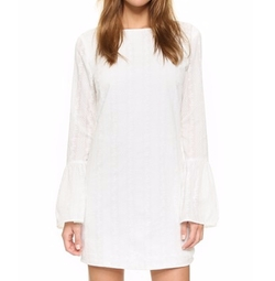 English Factory - Flare Sleeve Mini Dress