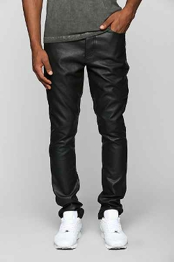 KC by Kill City - Faux-Leather Skinny Pants