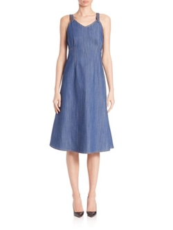 Adam Lippes  - Denim Dress