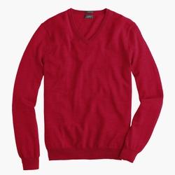 J.Crew - Slim Merino Wool V-Neck Sweater