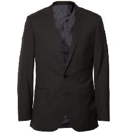 J.CREW   - GREY LUDLOW WOOL SUIT JACKET