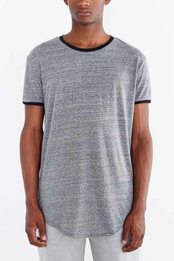 Urban Outfitters - Ringer Scoop Neck T-Shirt