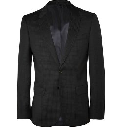 Ps By Paul Smith   - Slim-Fit Wool-Jacquard Suit Jacket