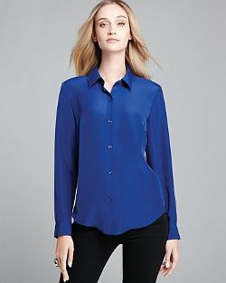 Jones New York  - Taylor Button Front Blouse